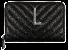 Portafoglio zip lux leather