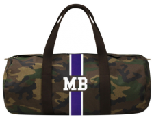 Borsone Camouflage Banda Classica